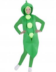 Boon met erwten kostuum voor volwassenen