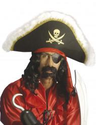 Piraten sik en snor voor volwassenen