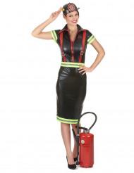 Brandweerman kostuum voor dames