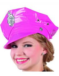 Roze politie pet