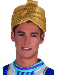 Gouden sultanhoed voor volwassenen
