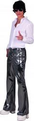 Zilverkleurige broek voor heren