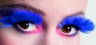 Valse wimpers veren donker blauw voor volwassenen