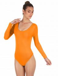 Fluo oranje pak voor volwassen