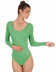 Groene body voor volwassenen