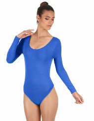 Blauwe body voor volwassenen