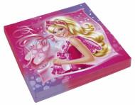 20 papieren Barbie servetten™ 33 x 33 cm