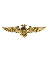 Goudkleurige piloten broche