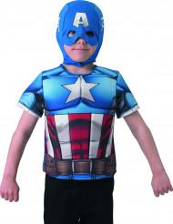 Borstplaat Captain America The Winter Soldier™ voor jongens