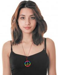 Veelkleurige hippie ketting