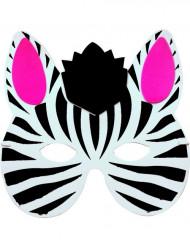 Zebramasker voor kinderen