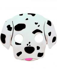Dalmatiër hondenmasker voor kinderen