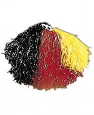Pompon Belgie of Duitsland supporter