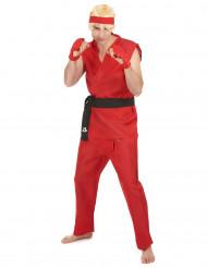 Rode Kung Fu kostuum voor heren