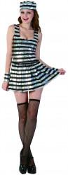 Glimmend gevangenen outfit voor vrouwen