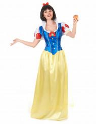 Sierlijk Sneeuwwitje kostuum voor dames