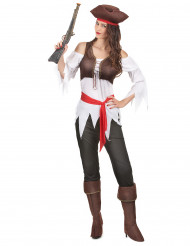Ppiraten kostuum voor vrouwen