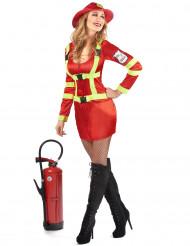 Brandweer kostuum voor vrouwen