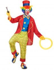 Gek clown kostuum voor heren