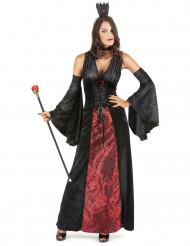 Vampier koninging kostuum voor vrouwen