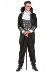 Donkere vampier kostuum voor heren