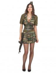 Sexy soldaten kostuum voor vrouwen