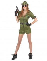 Soldaten kostuum voor vrouwen
