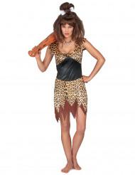 Holbewoner kostuum voor vrouwen