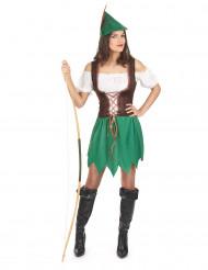 Klassieke Robin Hood outfit voor vrouwen