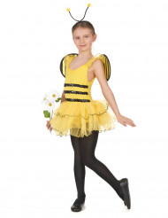Geel bijen tutu pak voor meisjes