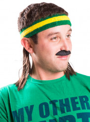 Mulletonthego™ Gele en groene haarband