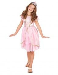 Roze fantasy prinses kostuum voor meisjes