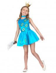 Glitter pauw outfit voor meisjes