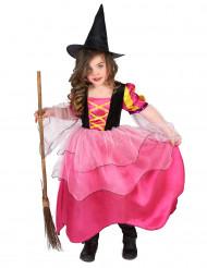 Roze heksenkostuum voor meisjes