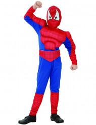 Superheld spinnen kostuum voor jongens