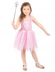 Roze feeën kostuum voor meisjes