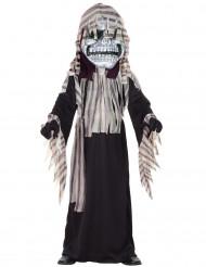 Verkleedkostuum skelet voor jongens Halloween kleren