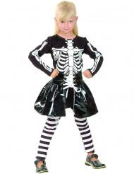 Verkleedkostuum skelet voor meisjes Halloween outfit