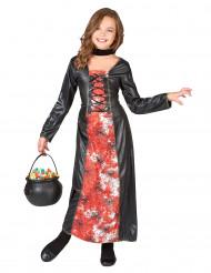 Bloody spider heksen kostuum voor meisjes