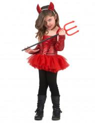 Rood duivel kostuum voor meisjes