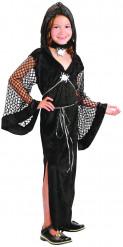 Zwarte weduwe kostuum voor meisjes
