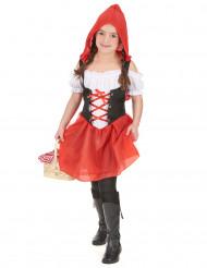 Sprookjesachtig Roodkapje kostuum voor meisjes
