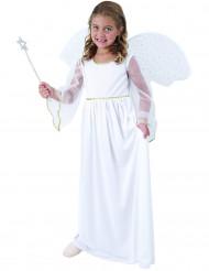 Wit engel kostuum voor meisjes