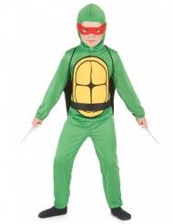 Groene turtle kostuum voor kinderen