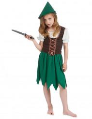 Verkleedkostuum woud meisje Carnavalskleding