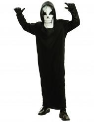 Verkleedkostuum skelet voor jongens Halloween outfit