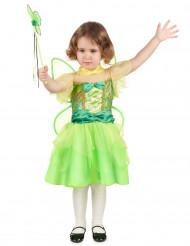Groen fee prinses kostuum voor meisjes