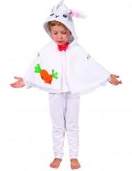 Konijnen cape kostuum voor kinderen