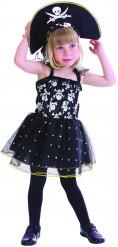 Verkleedkostuum piraat doodskop voor meisjes Carnavalskledin