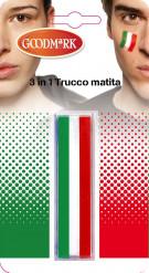 Italiaanse supporter schmink setje